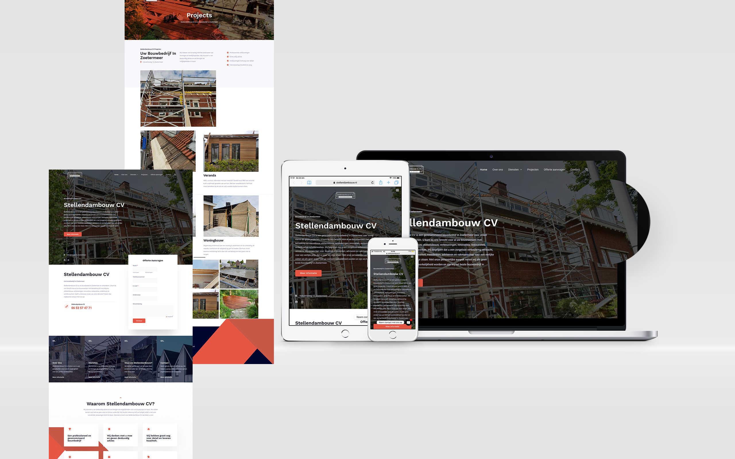 Website laten maken stellendambouw