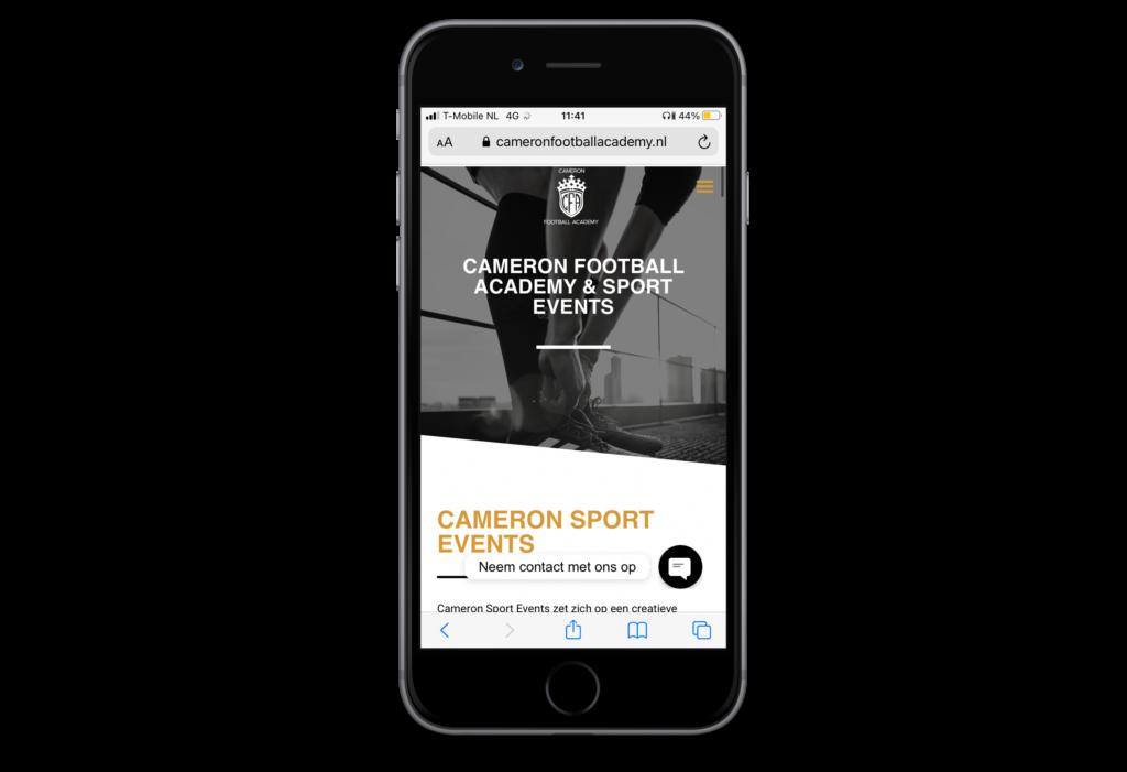 cameron football academy